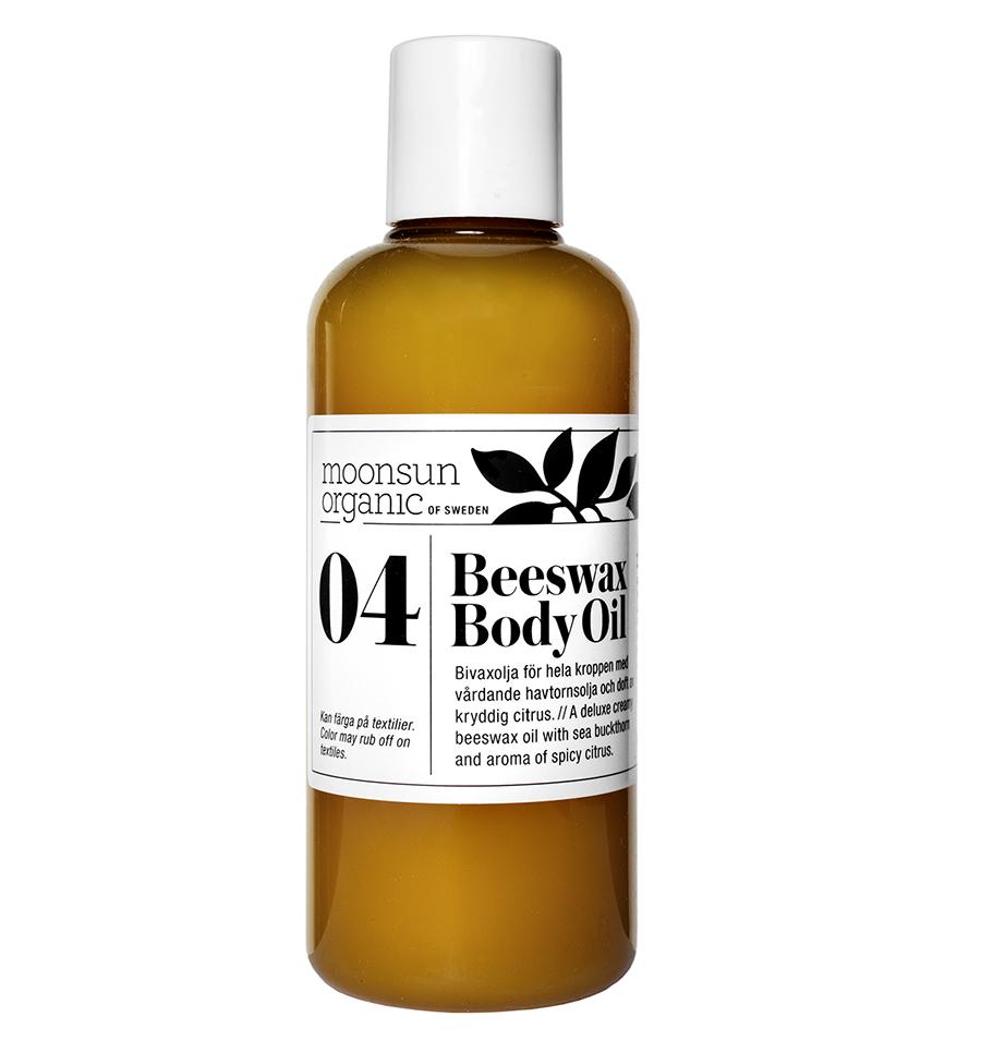Beeswax Body Oil Moonsun Organic