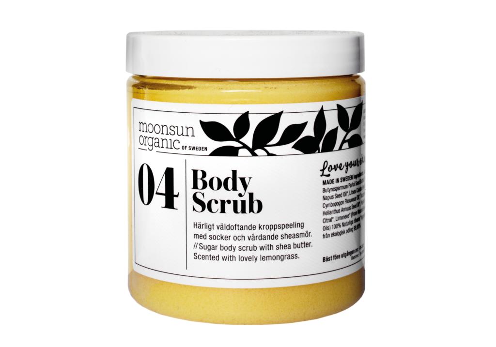 Body Scrub 04 Moonsun Organic