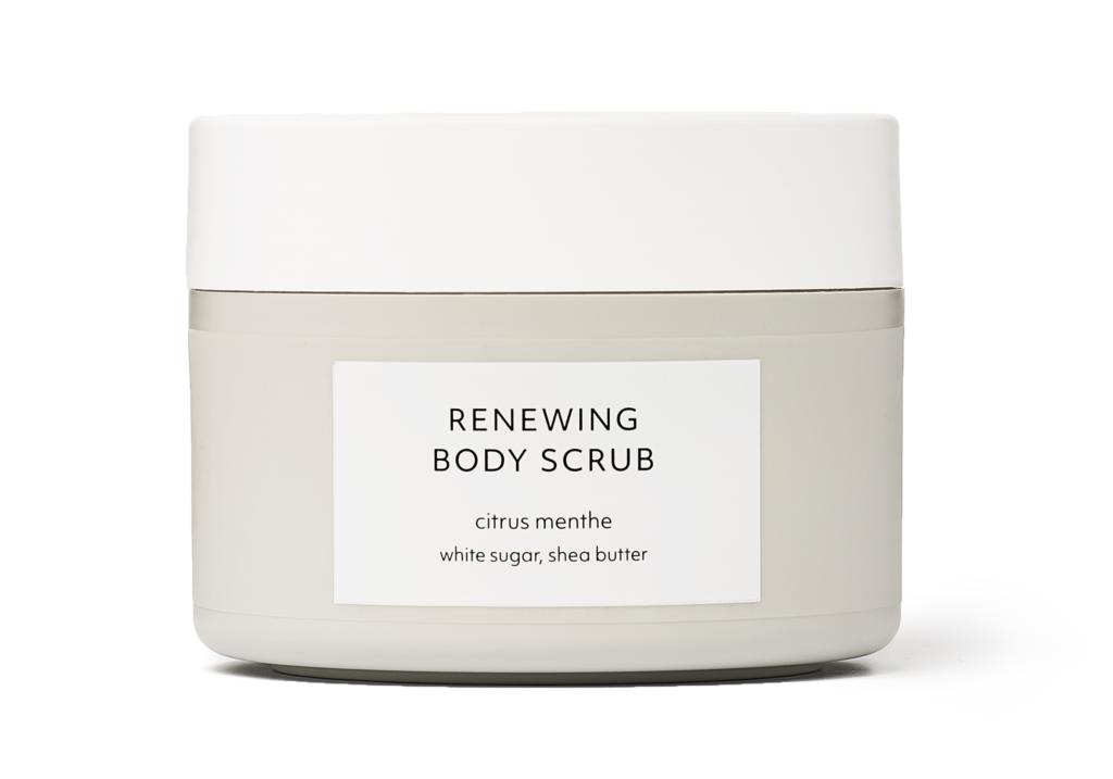 Citrus Menthe Renewing Body Scrub Estelle & Thild
