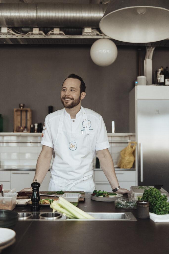 Årets kock Ludwig Tjörnemo