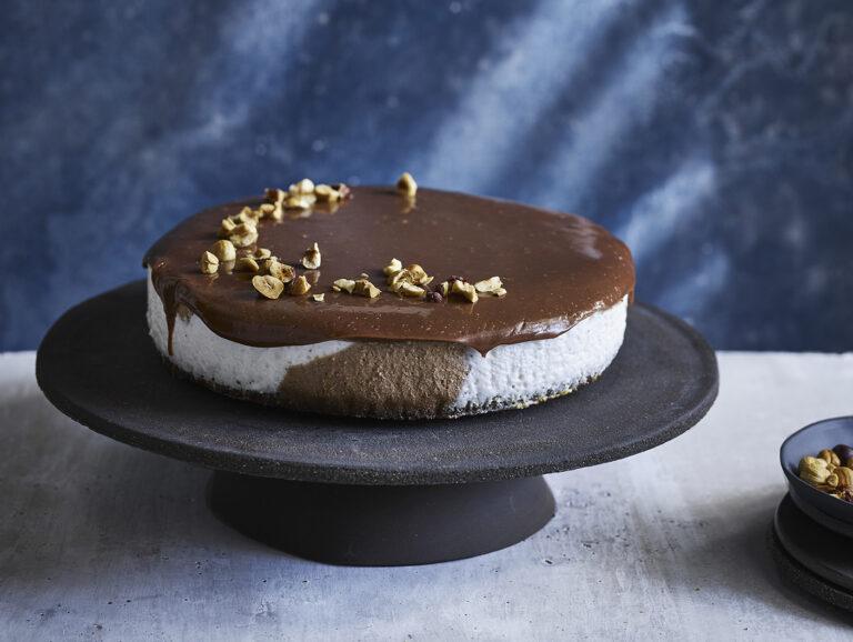 vegansk cheesecake